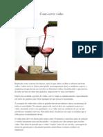 Como Servir Vinho