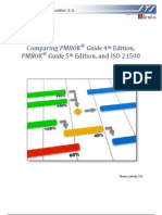Comparing PMBOK 4and 5th Edition