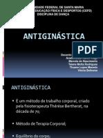 antiginástica - apresentação