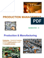 Unit - I - Production_Mgt Introduction