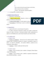 DIREITO FINANCEIRO CRÉDITO PÚBLICO RESUMO