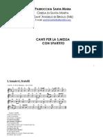 Canti Con Spartito