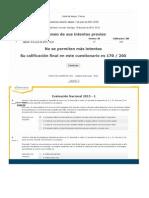 Evaluación Nacional Macroeconomía - 2013 UNAD