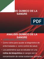 Analisis Quimico de La Sangre