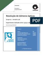 Resolução de isômeros ópticos Oficial 2