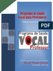 Cartilha Saúde Vocal para Professores - Concluida