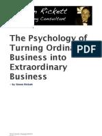Simon Rickett - Turning Ordinary Business Into Extraordinary Business