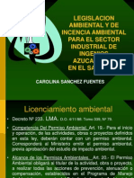 5. LEGISLACIÓN AMBIENTAL DE MAYOR INCIDENCIA AOP