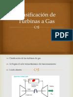 Clasificación de Turbinas a Gas