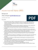 Acute Kidney