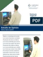 Informe Concluyente Ranking Banca (Marzo 2013)