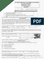 Ficha de trabalho 2 - Abril - Correcção
