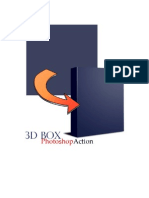 3D Photoshop Box Action Manual