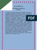 Del Codice a La Pantalla