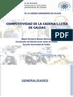 PRESENTACIÓN DE COMPETITIVIDAD DE LA CADENA LÁCTEA DE CALDAS