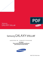 Verizon Wireless i200 Galaxy Stellar English User Manual LG4 F3