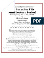 13-06-12 Invitation, Paradise City Mini Lecture Series