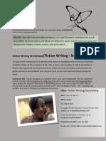 Buttafly Arts Online Fiction Workshop