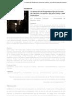 La recepción del Pragmatismo por la Escuela de Frankfurt - Dewey y Horkheimer