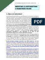 Autoestima EOEP Fuentes de Ebro