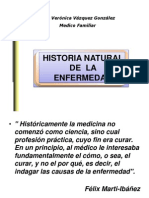 Historia Natural Del a Enfer Me Dad