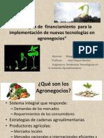 Estrategias de  financiamiento  para la implementación de