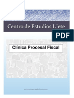 Clinica Procesal Fiscal