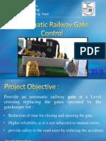 Automatic Railway Gate Control