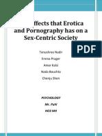 Erotica & Porn Essay