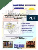 Estudio de Suelos Asentamientos Villa Trinidad - Informe 03-1-3163 - Rev 30-03-2012