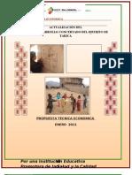 Propuesta Tecnica PDC - TARICA