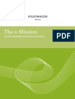 Electric Mobility and the Environment