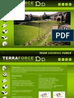 terraforce hollow core retaining block