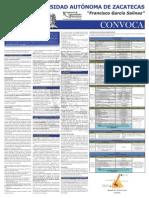 Convocatoria Proceso Único de Ingreso 2013