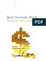 Quick Tax Guide-2012