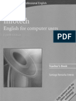 Infotech - English for computers users (teacher's book)