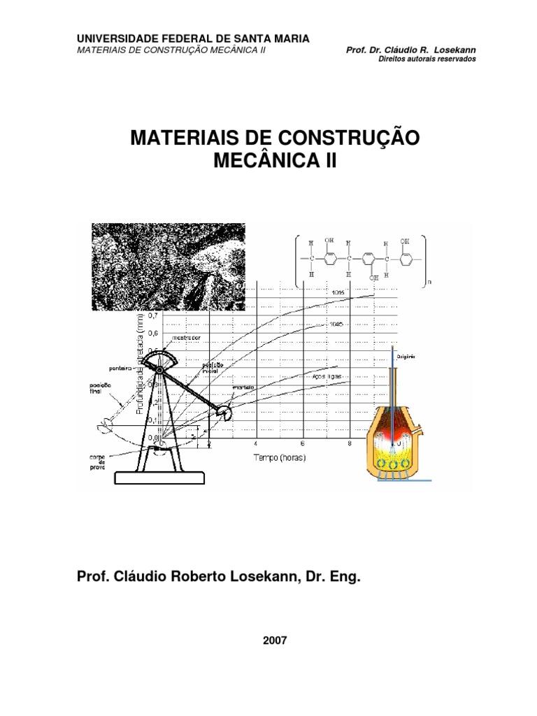 Materiais de construo mecnica ii ufsm ccuart Gallery