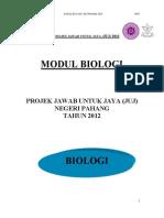 SPM Biology JUJ Pahang 2012