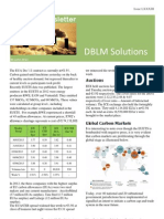 DBLM Solutions Carbon Newsletter 06 June