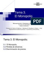 Monopolio Sirve Parcial