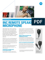 Motorola MotoTRBO INC Remote Speaker Microphone