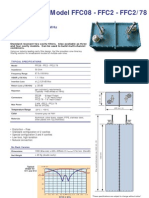 Cavity Filters P045-DigitalTV