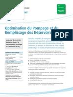 Pump and Reservoir Optimization FRA