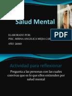 Que Es La Salud Mental