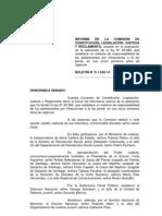 Informe de La Camara Sobre Lrpa 2013
