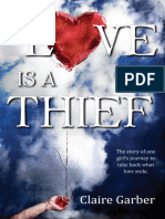 Love is a Thief by Claire Garber - Chapter Sampler