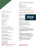 Letra de Canciones