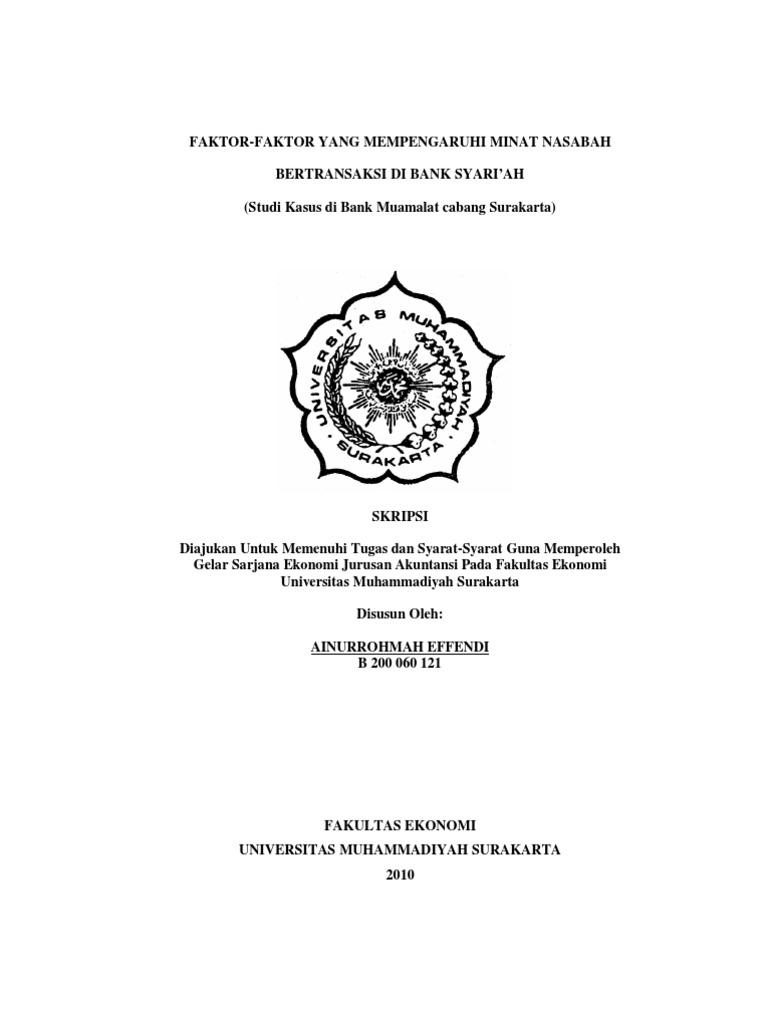 Contoh Skripsi Akuntansi Syariah Contoh Soal Pelajaran Puisi Dan