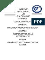 CONSTRUCCIÓN DE INSTRUMENTOS DE INVESTIGACIÓN