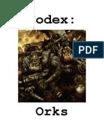 Codex Orks